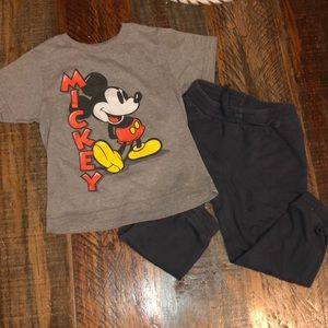 Toddler  Mickey outfit
